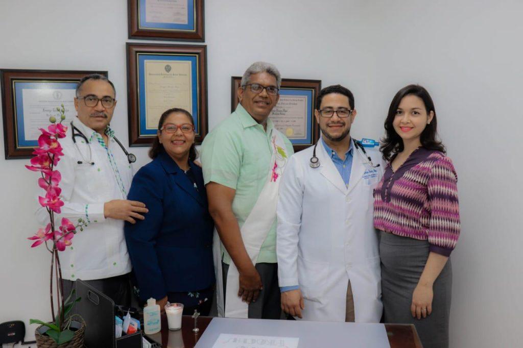 Bienvenida al Dr. Lorenzo Tavárez Rojas a la familia del Policlínico Unión